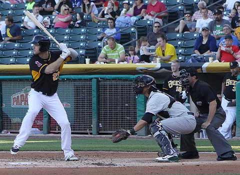 Boesch Hits his Fifth Homer of the Homestand in Bees Loss