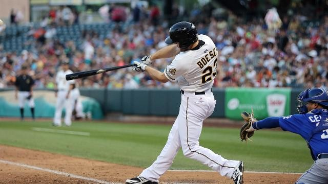 Bees Announce Boesch Crowned PCL's Batting Champion